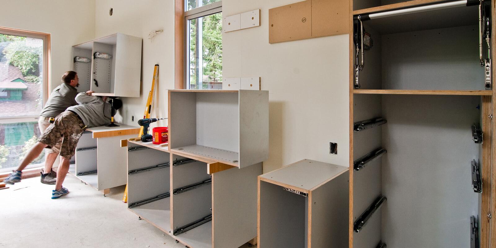 Virtuves iekārtas montāža un uzstādīšana