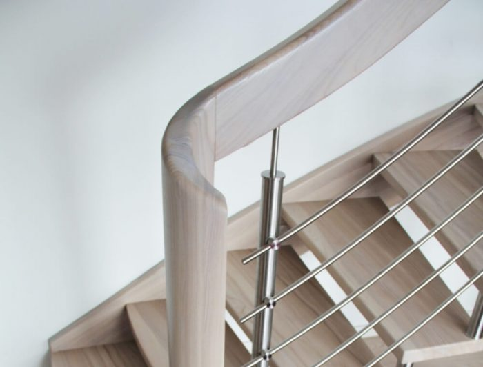 Wooden staircase 4