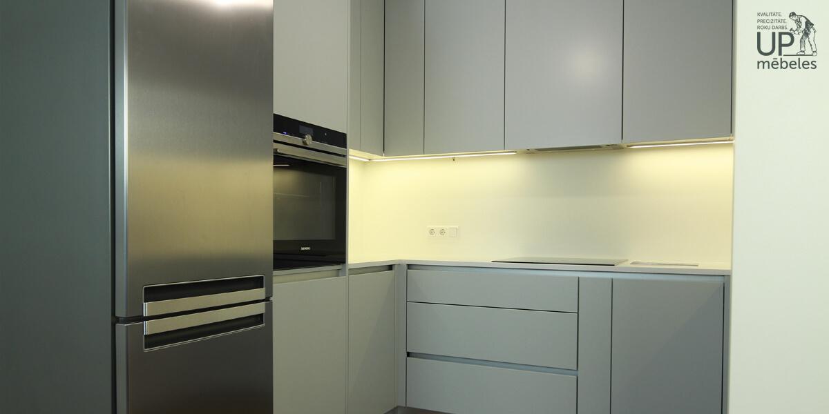 iebūvētās virtuves