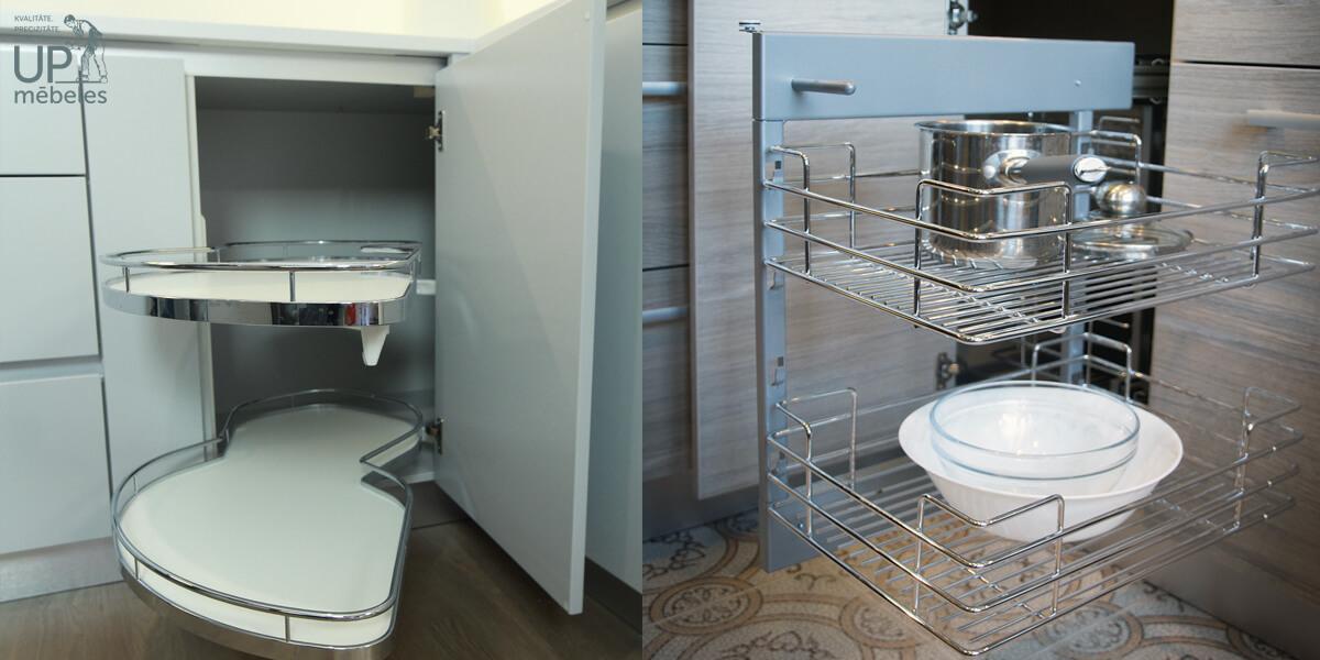 virtuves stūra iekārtas